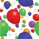 Balloon,Backgrounds,Seamless,Mid-Air,Party - Social Event,Wallpaper Pattern,Fun,Blue,Multi Colored,Celebration,Red,Purple,Parties,Orange Color,Yellow,Vector Backgrounds,Birthdays,Holidays And Celebrations,Illustrations And Vector Art,Colors,Green Color