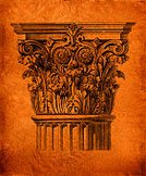 Architectural Column,Engraving,Antique,Old-fashioned,Line Art,Retro Revival,Architecture,Design Element,Old,Brown,Dirty,Midsection,Engraved Image,Grunge,Architecture And Buildings,Architecture Backgrounds,Illustrations And Vector Art,Architectural Detail,Vertical,No People,Scratched,Paper,graphic element