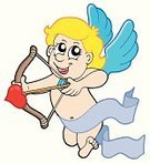 Cupid,Artificial Wing,Cherub,Valentine's Day - Holiday,Angel,February,Color Image,Cartoon,Design,Love,Drawing - Art Product,Day,Smiley Face,Heart Shape,Smiling,Art Product,Art,Joy,Child,Blond Hair,Honeymoon,People,Isolated,Decoration,Multi Colored,Arrow,Concepts,Emotion,Illustrations And Vector Art,Vector Cartoons,Messenger,Vector,Ilustration,Heaven,Celebration,Role Model,Abstract