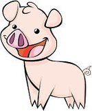 Piglet,Pig,Cheerful,Happiness,Domestic Pig,Landrace Pig,oink,Livestock,Feelings And Emotions,Farm Animals,Babies And Children,Lifestyle,Animals And Pets,Toothy Smile,Smiling,Concepts And Ideas