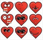 Heart Shape,Emotion,Smiley Face,Cartoon,Symbol,Sleeping,Cute,Sunglasses,Smiling,Animated Cartoon,Dating,Shouting,Flirting,Love,Vector,Cheerful,Happiness,Ilustration,Positive Emotion,Computer Icon,Yellow,Anger,Romance,Furious,Screaming,Hungry,Red,Negative Emotion,Worried,Cartoon Face,Vector Cartoons,Vector Icons,Feelings And Emotions,Illustrations And Vector Art,Concepts And Ideas
