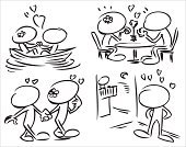 Love,Cartoon,Animated Cartoon,Characters,Dating,Caricature,Sketch,Single Flower,Humor,Design,Nautical Vessel,Romance,Pencil,Table,Lake,Loving,Cute,Walking,Sitting,Flower,Vector,Sailing,Blank Expression,Ink,Ilustration,The Human Body,Flirting,no face,Tracing,Clip Art,Love Date,Black And White,Description,Gesturing,Circle,Shape,Art