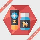Animal Hospital,Animal,Canine,Medical Clinic,Hospital,Illustration,Stethoscope,Vet,Examining,Pets,Dog,Doctor,Vector,Group Of Objects