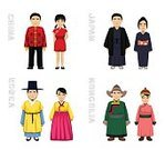 Adult,61184,Characters,Variation,East,Korean Ethnicity,Chinese Ethnicity,Asian and Indian Ethnicities,Japanese Ethnicity,Mongolian Ethnicity,Ethnicity,East Asian Ethnicity,Men,Women,Independent Mongolia,Korea,Asia,China - East Asia,Japan,Cute,Japanese Culture,Cartoon,Collection,Illustration,Chinese Culture,Mongolian Culture,Fashion,Couple - Relationship,Heterosexual Couple,Cultures,Korean Culture,Married,East Asian Culture,Arts Culture and Entertainment,Vector,Traditional Clothing,Dress,Costume,Cheongsam,Clothing,Kimono,Smiling,Hanbok