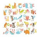 Child,England,Computer Graphics,Background,Single Word,Animal,Cute,Alphabet,Illustration,Zoo,Teaching,Computer Graphic,Pets,Education,Drawing - Activity,Backgrounds,Dictionary,Fun,Vector,Multi Colored