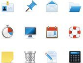 Calendar,Symbol,Computer Icon,E-Mail,Calculator,File,Mail,Office Interior,Garbage,Icon Set,Timer,Computer,Thumbtack,Bin/tub,toolbar,Paper,Set,Envelope,Document,Buoy,Garbage Can,Wastepaper Basket,Label,Office Supply,Ring Binder,Computer Monitor,Vector,Filing Tray,Collection,Vector Icons,Illustrations And Vector Art