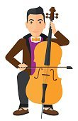One Person,Art And Craft,Art,Cartoon,Illustration,People,Flat,Vector,Design