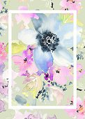 Vertical,No People,Flower,Background,Illustration,Backgrounds,Photography,Pastel Colored