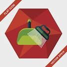 ,Animal,Cute,Cleaner,Illustration,Sweeping,Cleaning,Housework,Cotton Swab,Pets,Dog,Groomer,Lifestyles,Vector