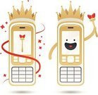 Mobile Phone,Telephone,Crown,King,Winning,premium,Smart Phone,Gold Colored,Computer Graphic,Technology,Vector,Laughing,Ilustration,Finance,Manga Style,Sparks,Luxury,Barons,Cool,Smiling,Emperor,Gold,Wealth,Platinum,White,Individuality,Equipment,Majestic,Happiness,Nobility,Success,Futuristic,Illustrations And Vector Art,Silver Colored,Isolated,Silver - Metal,Making a Face,Shiny,Vector Cartoons,White Background,Touch Screen,Forecasting,Respect