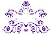 Purple,Nobility,Frame,Design,Pattern,Backgrounds,Floral Pattern,Ornate,Decoration,Sign,Old-fashioned,Abstract,Modern,Symbol,Vector,Retro Revival,White,Placard,Spiral,Vignette,Ringlet,Shape,Curled Up,Ilustration,Vector Florals,Vector Backgrounds,Classical Style,Vector Ornaments,Illustrations And Vector Art