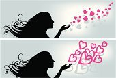 Human Hair,Heart Shape,Silhouette,Human Hand,Beauty,Love,Valentine's Day - Holiday,Fashion,I Love You,Spreading,Women,Dating,Human Head,Beauty In Nature,Elegance,Beautiful,Ideas,Concepts,One Woman Only,Sensuality,Emotion,Decoration,Human Face,Dawn,Style,Wedding,Creativity,Adult,Design Element,Passion,Long Hair,Love Card,Clip Art,Adolescence,Only Women,Young Adult,Copy Space,Day,Caucasian Ethnicity,Flirting,One Person,20-24 Years,Horizontal,Glamour,Dusk,Bright,Love At First,Young Women,Luminosity,People,Dreamlike,Teenage Girls,Romance