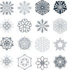 Openwork,Circular Patterns,Wall Decor,Circular Ornament,Vignette,Japan,Embellishment,Collection,Snowflake,Illustration,Image,Knitting,Swirl,Mandala,Spinning,Decor,Sun,Vector,Brocade,Pattern,Squiggle