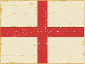 English Flag,England,Flag,Retro Revival,Distressed,Grunge,Dirty,National Flag,Old-fashioned,Objects/Equipment,Illustrations And Vector Art,Vector Icons,Clip Art,Vector Backgrounds,Household Objects/Equipment,Backgrounds,Damaged,Symbol,Design Element
