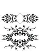 Arabic Style,Growth,Floral Pattern,filigree,Swirl,Black Color,Frame,Decoration,Scroll Shape,Engraving,Ornate,Vector,Acanthus Plant,Silhouette,Gothic Style,Engraved Image,Victorian Style,Art Nouveau,Retro Revival,Fleuron,Old-fashioned,Art Deco,Cartouche,Design Element,Elegance,Squiggle,Luxury,Antique,Leaf,Vector Backgrounds,Vector Ornaments,Cross Hatching,Vector Florals,Spiral,Intricacy,Back Lit,Copy Space,Illustrations And Vector Art