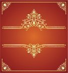 Book Cover,Decoration,Gold Colored,Gold,Frame,Classical Style,Fringe,Angle,Pattern,Banner,Old-fashioned,Backgrounds,Decor,Cultures,Antique,Abstract,Brown,Vector,Composition,Scroll Shape,tooling,Bush,Vector Backgrounds,Ilustration,Arts Abstract,Shiny,Illustrations And Vector Art,Leaf,Nature,Arts And Entertainment,Nature Abstract