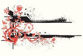 Flower,Floral Pattern,Design,Grunge,Decoration,Funky,Backgrounds,Abstract,Line Art,Vector,Swirl,Art,Scroll Shape,Computer Graphic,Modern,Design Element,Distressed,Twisted,Ilustration,Ornate,Digitally Generated Image,Splattered,Beauty,Clip Art,Spray,Curve,Style,Curled Up,Blank,Elegance,Leaf,Arts Backgrounds,Vector Backgrounds,Vector Florals,Arts And Entertainment,Illustrations And Vector Art,Weathered,Textured Effect,Copy Space