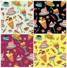 Ice Cream,Pattern,Cream,Ice,Seamless,Candy,Backgrounds,Food,Cake,Fruit,Cute,Vector,Ilustration,Pink Color,Dessert,Party - Social Event,Snow Cone,Pie,Chocolate,Muffin,Ice Cream Cone,Art,Cup,Repetition,Drawing - Art Product,Chocolate Candy,Painting,Pastry,Ornate,Yellow,Sweet Food,Wallpaper Pattern,Part Of,Candle,Baked,Chocolate Truffle,Decoration,No People,Cherry,Set,Icing,Food Backgrounds,Holiday Backgrounds,Baking,Computer,Celebration,Food And Drink,Holidays And Celebrations