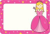 Princess,Invitation,Cartoon,Frame,Little Girls,Cute,Fairy Tale,Pink Color,Tiara,Vector,Star Shape,Sign,Dress,Fun,Fashion,Femininity,Ilustration,girlie,Placard,Design,Smiling,Fantasy,Magic Wand,Characters,Computer Graphic,Costume,Happiness,Necklace,Digitally Generated Image,Evening Gown,Copy Space,Holidays And Celebrations,Vector Cartoons,Princess Costume,Illustrations And Vector Art,Concepts And Ideas,Color Image,Standing,Horizontal
