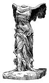 Nike,Greek Culture,Greece,Art,Statue,Temple of Athena Nike,Engraving,samothrace,Engraved Image,Sculpture,Black Color,Backgrounds,Antique,Victory,White,Ilustration,Single Object,Stone,Classic,Marble,Athens - Greece,Stone Material,Design Element,Roman,Isolated,Old-fashioned,Macro,Retro Revival,Close-up,Winning,White Background,Monochrome,Old,Antiquities,Success,Beauty,Ancient Rome,Image Created 18th Century,Black And White,Empire,Still Life,Image,No People,Travel Locations,Image Created 19th Century,Time,Concepts And Ideas,Cut Out,Front View,Vertical,Arts Symbols,graphic element,Image Date,Isolated On White,Art Symbol,High Contrast,Arts And Entertainment,Studio Shot,Antique Book,Copy Space
