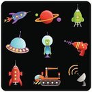 Space,Robot,Rocket,Alien,Spaceship,Cartoon,UFO,Planet - Space,Cute,Gun,Group of Objects,Vector,Transportation,Land Vehicle,Cyborg,Design,Computer Graphic,Set,Ilustration,Characters,Satellite Dish,Crane - Construction Machinery,Design Element,Collection,Fun,Multi Colored,Mobile Crane,Style,Vector Cartoons,Transportation,Illustrations And Vector Art,Vector Icons