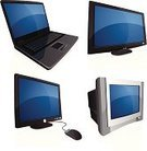 Computer,Laptop,Television Set,Computer Monitor,Three-dimensional Shape,Icon Set,Desktop PC,Computer Mouse,Office Interior,PC,Technology,Side View,Internet,Vector,Flat Screen,Liquid-Crystal Display,Electrical Equipment,Equipment,Information Medium,Business,Ilustration,Black Color,Computer Keyboard,Luxury,Design Element,High-definition Television,Computer Software,Lcd Television,Futuristic,Single Object,Isolated,No People,Clip Art,Wide Screen,Blue,Reflection,Entertainment,Big Screen Tv,Isolated On White,plasma tv,Copy Space,Illustrations And Vector Art,On The Move,Mobility,Technology,Vector Cartoons,Isolated-Background Objects,Computers,Isolated Objects
