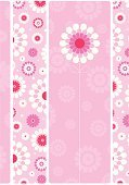 Single Flower,Pink Color,Flower,Backgrounds,Pattern,Floral Pattern,Femininity,Daisy,Cute,Retro Revival,Vector,Abstract,Modern,Computer Graphic,Fun,Summer,Springtime,White,Ilustration,Wrapping Paper,Simplicity,Decoration,Repetition,Digitally Generated Image,Petal,Design Element,Magenta,Vertical,Nature,No People,Stem,Flowers,Nature Abstract,Illustrations And Vector Art,Floral Abstract,Nature