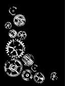 Gear,Sprocket,Engine,Industry,Machine Part,Factory,Automated,Wheel,gearing,Industry,Retail/Service Industry,Vector Backgrounds,Heavy Industry,Metal,Illustrations And Vector Art