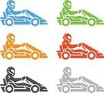 Cut Out,Motion,Competition,Silhouette,No People,Mode of Transport,Sign,Leisure Activity,Car,Activity,Track - Imprint,Go-cart,Illustration,Computer Icon,Extreme Sports,Sport,Thin,Sports Race,Soapbox Cart,Land Vehicle,Go-Carting,Machinery,Vector,Label,Badge