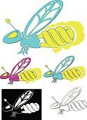 Firefly,Power,Insect,Environment,Electricity,Light Bulb,Insects,Vector Cartoons,Illustrations And Vector Art,Animals And Pets,Energy,Fluorescent Light