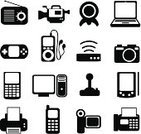 Camera - Photographic Equipment,Religious Icon,Laptop,Symbol,Computer Icon,Mobile Phone,Telephone,Black Color,MP3 Player,Icon Set,Computer,Electrical Equipment,Fax Machine,Radio,Home Video Camera,Vector,Leisure Games,Series,Joystick,Internet,Information Medium,Palmtop,Ilustration,Electronics Store,Electronics Industry,Calculator,Communication,Set,Electronic Organizer,Personal Data Assistant,Headphones,Black And White,Computer Printer,CPU,Modem,Vector Icons,Electronics,Technology,Icon Series,computer system,Illustrations And Vector Art,Computers