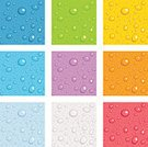 Water,Drop,Condensation,Seamless,Backgrounds,Bubble,Glass - Material,Orange Color,Green Color,Gray,Red,Abstract,Blue,Wet,Yellow,Vector,Kelly Green,Purple,Liquid,Transparent,Reflection