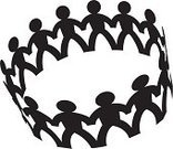 People,Holding Hands,Paper Chain,Circle,Partnership,Connect,Unity,Connection,Silhouette,Link,Group Of People,Team,Teamwork,Vector,Harmony,Attached,Bonding,Design Element,graphic elements,Ilustration,Business,Illustrations And Vector Art,Business Concepts,Business Symbols/Metaphors,Vector Icons