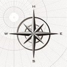 Compass,Compass Rose,Direction,Star Shape,Grid,North,Backgrounds,Pattern,South,West - Direction,Square,East,Design Element,Illustrations And Vector Art,No People,Concepts And Ideas