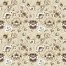 Russian Style,Slavic,Slavonic,Fabric Print,Russia,No People,Summer,Illustration,Wrapping Paper,Autumn,Seamless Pattern,Botany,Branch,Vector,Wild Rose,Beige,Red