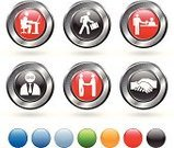 Human Resources,Recruitment,Job Interview,Handshake,Interview,Employment Issues,Computer,Symbol,Receptionist,Red,Business Relationship,Computer Icon,Icon Set,Suit,Technology,Business,Circle,Desk,Elegance,Grid,Unemployment,Blank,Green Color,Metallic,Laptop,Chair,Tie,Agreement,Businessman,Digitally Generated Image,Metal,White Background,Silver Colored,Empty,Blue,Briefcase,Silver - Metal,Orange Color,Stick Figure,Finance