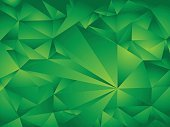 Fractal Background,Abstract,No People,Two-dimensional Shape,Background,Abstract Backgrounds,Color Gradient,Illustration,Shape,Backgrounds,Vector,Triangle Shape,Green Color