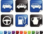Car,Symbol,Fuel Pump,Computer Icon,Motor Vehicle,Oil,Steering Wheel,Oil Change,Wheel,Transportation,Computer Graphic,Pick-up Truck,Label,Vector,Black Color,Green Color,Ilustration,Digitally Generated Image,Red,Oil Industry,White Background,Page Curl,Paraffin,Isolated On White,Shiny,Purple,Orange Color,Design