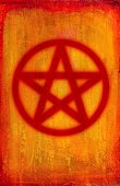 Wicca,wicca,Witchcraft,Religion,Religious Icon,Vertical,Textured Effect,Orange Color,Red,Halloween,Illustrations And Vector Art,Yellow,Paint,Symbol,Hope,Textured,Stenciled,Five Pointed Star,Painted Image,Paintings,Spirituality,Backgrounds,Star Shape
