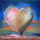 Heart Shape,Art,Love,Painted Image,Grunge,Blue,Paintings,Backgrounds,Orange Color,Green Color,Valentine's Day - Holiday,Pink Color,Multi Colored,Concepts,Ideas,Red,Acrylic Painting,Symbol,Brown,Vibrant Color,Flying,Holiday Symbols,Holidays And Celebrations,Valentine's Day