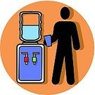 Drinking,Drinking Water,Water Cooler,Symbol,Computer Icon,Men,Bottle,Working Late,Office Interior,Working,Heat - Temperature,Ilustration,Business,Occupation,Cup,Business,Business Meetings,Cold - Termperature,Refreshment,Vector,Employment Issues,Single Object,Healthy Lifestyle