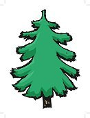 No People,Art And Craft,Art,Evergreen Tree,Wood - Material,Illustration,Nature,Pinaceae,Isolated,Coniferous Tree,Botany,Environment,Forest,Plant Stem,Social Issues,Branch,Backgrounds,Environmental Conservation,Tree Trunk,Pine Tree,Tree,Vector,Design,White Color
