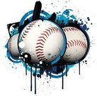 Baseball - Sport,Sport,Grunge,Baseballs,Backgrounds,Computer Graphic,Cool,Vector,Design,City Life,Urban Scene,Ball,Digitally Generated Image,Paint,Funky,Intricacy,Ilustration,Drop,Colors,No People,Color Image