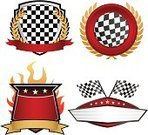 Sports Race,Motorsport,Checkered Flag,Insignia,Competition,Vector,Coat Of Arms,Badge,Flag,Banner,Checked,Winning,Flame,Speed,Success,Placard,Wing,Drive,Seal - Stamp,Gold,Award,Gold Colored,Seal - Singer,Red,Ideas,The End,Concepts,First Place,Illustrations And Vector Art,Sports And Fitness,Silver - Metal,Achievement,Copy Space,Inspiration,Silver Colored