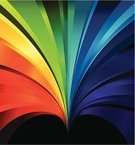 Rainbow,Spectrum,Backgrounds,Multi Colored,Color Gradient,Single Line,In A Row,Arc,Computer Graphic,Reflection,Arts Abstract,Arts Backgrounds,Arts And Entertainment