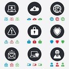 Security,Magnifying Glass,Mail,Sign,Computer Software,Crime,Cyborg,Illustration,Symbol,Mobile App,Internet,Computer Crime,Burglary,Technology,Laptop,Computer Hacker,Circle,Wireless Technology,Vector,Computer,Blue,Red