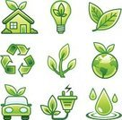 Green Color,Environment,House,Nature,Car,Leaf,Religious Icon,Symbol,Environmental Conservation,Light Bulb,Earth,Globe - Man Made Object,Energy,Computer Icon,Tree,Recycling,Recycling Symbol,Icon Set,Water,World Map,Vector,Plant,Concepts,Alternative Energy,Ideas,Vector Icons,Water Drop,Illustrations And Vector Art,Concepts And Ideas,White Background,water drop