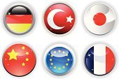 Flag,Turkish Flag,Three-dimensional Shape,Circle,Religious Icon,Turkish Culture,Symbol,All European Flags,Computer Icon,Interface Icons,German Flag,European Union Flag,Chinese Flag,Shape,countries,Vector,French Flag,nation,Japanese Flag,National Flag,Simplicity,Red,Isolated,Design Element,White,Shadow,Vector Icons,Blue,Reflection,Modern,Isolated On White,Star Shape,Ilustration,No People,Illustrations And Vector Art,Focus on Shadow