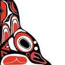 Tlingit,Religion Icon,Abstract,Creativity,Individuality,North,Black And White,Canada,Pacific Ocean,Computer Graphics,Haida,Animal,Primitivism,Inuit,Indigenous Culture,Illustration,First Nations,Image,Symbol,Animal Markings,Human Body Part,Cultures,Computer Graphic,Circle,God,Pole,Vector,Human Face,Pattern,Tattoo