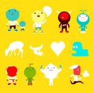Robot,Characters,Father,Deer,Apple - Fruit,Hungry,Talking,Cartoon,Heart Shape,Bizarre,Blue,Serene People,Costume,Vector,Son,Smiling,Yellow,Positive Emotion,Action,Animal Skull,Playing,Playful,Friendship,Staring,Boot,Determination,Concepts And Ideas,Blank Expression,Standing,Happiness,Joy,Star Shape,Feelings And Emotions,Character Traits,Ilustration,Vector Cartoons,Cheerful,Illustrations And Vector Art